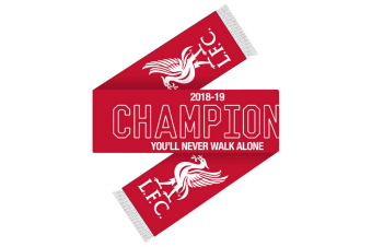 Liverpool FC Champions Scarf (Red/White) (One Size)