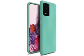 ZUSLAB Galaxy S20 Ultra 5G 2020 Nano Silicone Case Shockproof Gel Rubber Bumper Protective Cover for Samsung - Mint Green