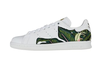 Adidas Originals x THE FARM Company Women's Stan Smith Shoes (White/Gold, Size 6)
