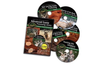 Outdoor Edge 5 DVD Set Game Processing Library