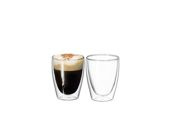 Avanti Cafe Twin Wall Glass 250ml Set of 2