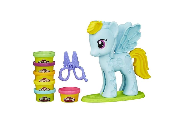 Play Doh My Little Pony Rainbow Dash Style Salon