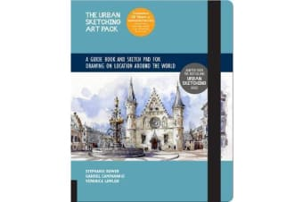 The Urban Sketching Art Pack - A Guide Book and Sketch Pad for Drawing on Location Around the World-Includes a 112-page paperback book plus 112-page sketchpad
