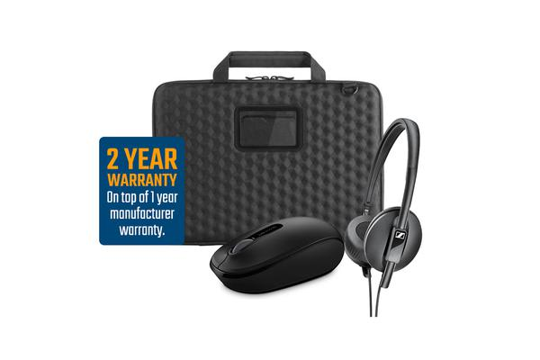 NZSTEM BYOD Accessory Bundle - High School & Secondary - Hard Shell Sleeve with Shoulder Strap for