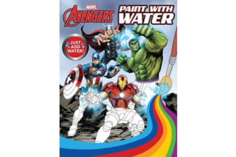 Avengers Paint With Water