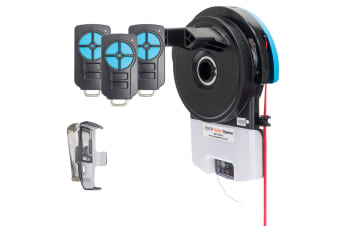 Garage Roller Door Opener Auto Openers with Three Remotes and 5 Yr Warranty