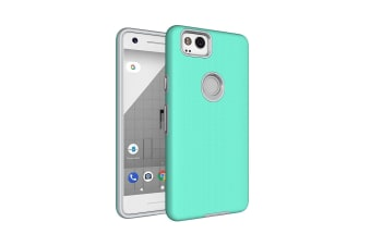For Google Pixel 2 Case Strong Styled Armour High-Quality Shielding Cover Green