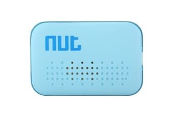 nut Mini Smart Tracker Finder Wireless BT Tag Tracker Tracking Reminder Anti-lost Alarm GPS Locator for Child Key Wallet for Android iPhone iPad iPod Blue