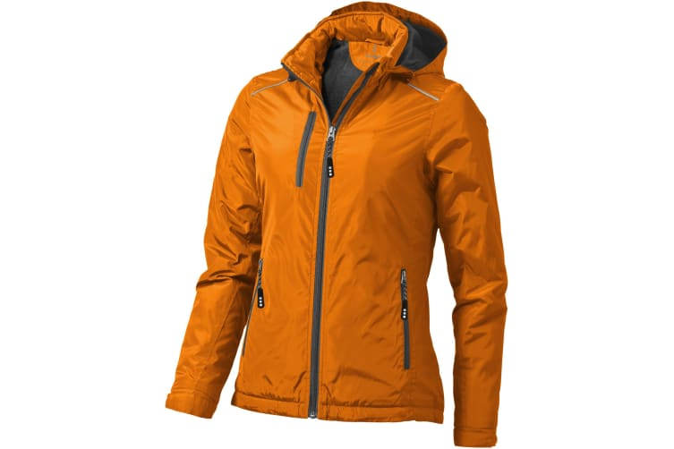 Elevate Womens/Ladies Smithers Fleece Lined Jacket (Orange) (XS)