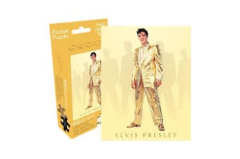 Elvis - Gold 100pc Pocket Puzzle