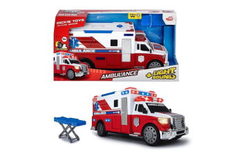 Dickie Toys Ambulance with Lights and Sounds