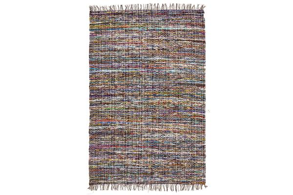 Primal Chindi Cotton Rug Blue 220x150cm