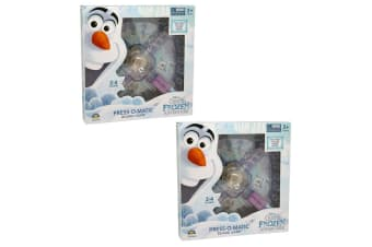 2PK Disney Frozen Olaf's Adventure Press O Matic Board Game Kids/Child 3y+ Toys