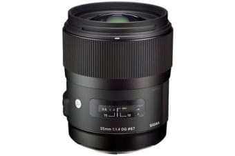 New Sigma 35mm F1.4 DG HSM Lens (Canon) (FREE DELIVERY + 1 YEAR AU WARRANTY)