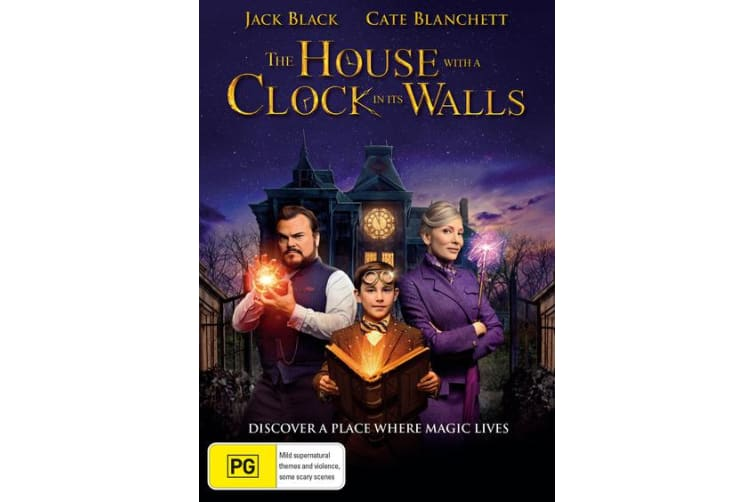 The House With a Clock in Its Walls DVD Region 4