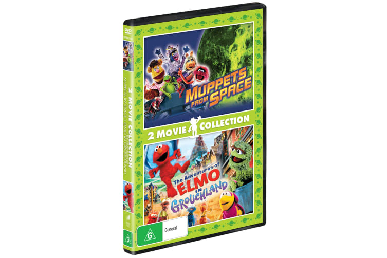 Muppets from Space / The Adventures of Elmo in Grouchland DVD Region 4