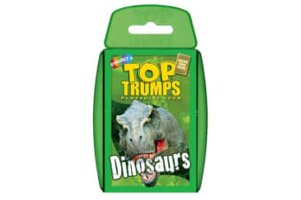 Top Trumps Cards Dinosaurs Card Game