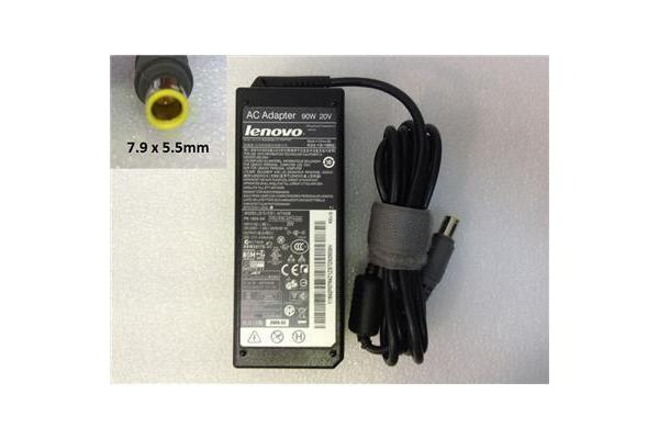 Lenovo OEM Notebook AC Power Adapter/Charger, 20V 3.25A 65W (7.9x5.5mm)