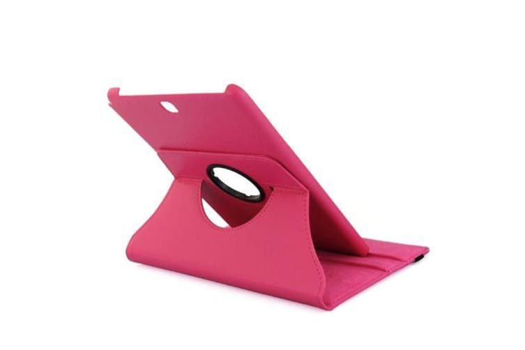 For Samsung Galaxy Tab A 9.7 SM-T550 SM-T555 Case Leather Cover Magenta