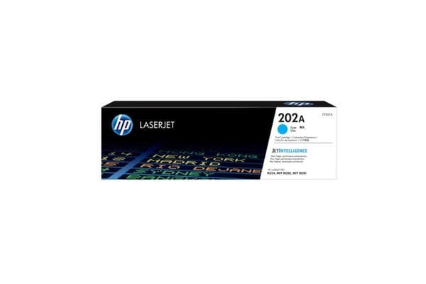 HP 202A Original Toner Cartridge - Cyan - Laser - Standard Yield - 1300 Pages - 1 Pack