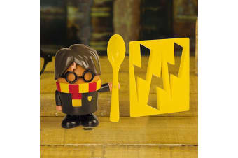 Official Harry Potter Egg Cup, Spoon & Toast Cutter