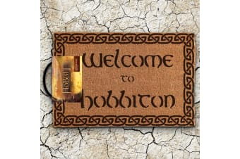 Lord of the Rings The Hobbit Welcome to Hobbiton Door Mat
