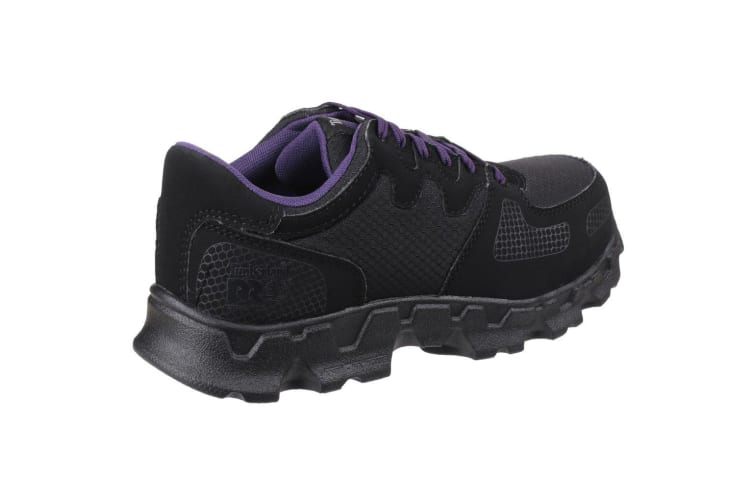 Timberland Pro Womens/Ladies Powertrain Low Lace Up Safety Shoes (Black) (6 UK)