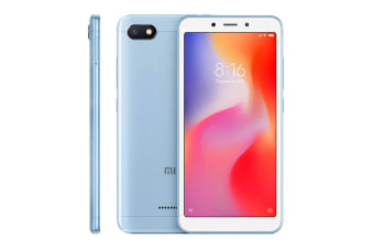 Xiaomi Redmi 6A (16GB, Blue)