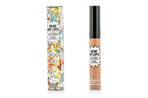 TheBalm Read My Lips (Lip Gloss Infused With Ginseng) - #Snap! (6.5ml/0.219oz)