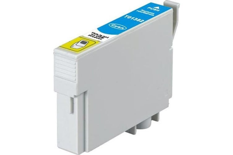 T1382 (138) Pigment Cyan Compatible Inkjet Cartridge