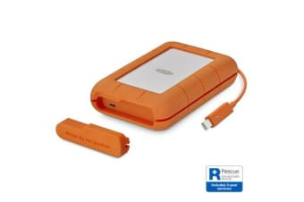 Lacie 2TB Rugged Thunderbolt & USB 3.1 Type C