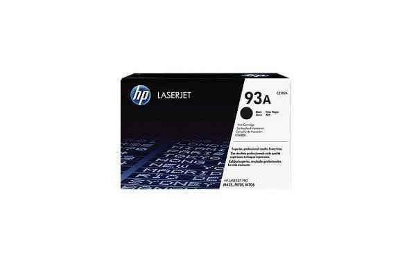HP 93A BLACK LASERJET TONER CARTRIDGE CZ192A