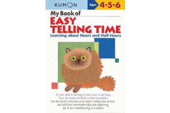My Book of Easy Telling Time - Hours & Half-Hours