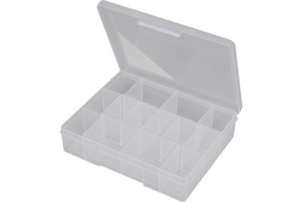 Fischer Plastic 14 Compartment Storage Box