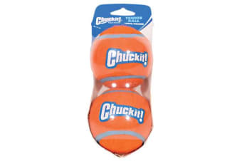 Chuckit Tennis Ball Medium 2 Pack