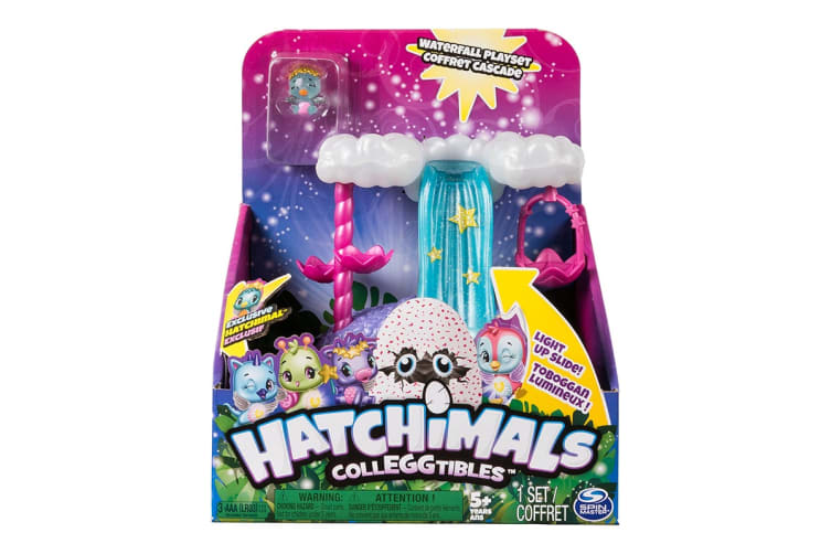Hatchimals Colleggtibles Show How You Glow Wishing Star Waterfall Playset