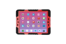 iPad Air 1 Shock proof Tough  Case Protector (Red)