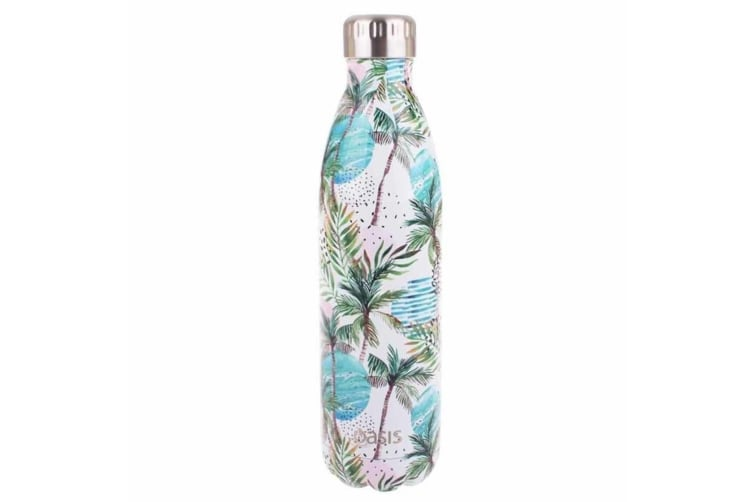 Oasis 750ml Double Wall Insulated Drink Water Bottle Vacuum Flask Whitsundays