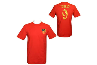 Atletico Madrid FC Mens Torres Hero T-Shirt (Red)