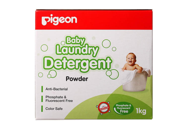 Pigeon 1kg Laundry Detergent Powder for Sensitive Skin Baby/Infant/Kids Clothes