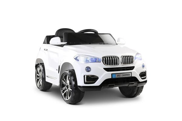 BMW Style X5 Electric Toy Car (White)