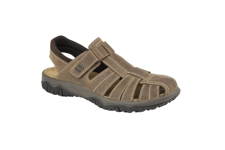 IMAC Mens Touch Fastening Sport Sandals (Brown) (8 UK)