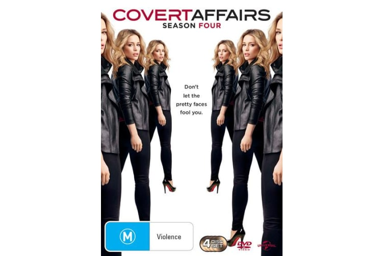 Covert Affairs Season 4 DVD Region 4