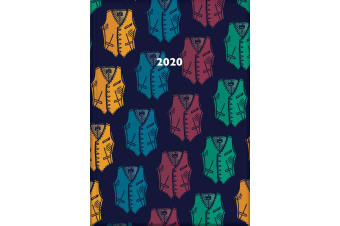 Waistcoats - 2020 Diary Planner A5 Padded Cover by The Gifted Stationery