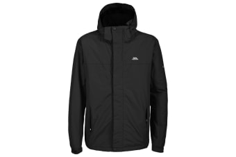 Trespass Mens Donelly Waterproof Padded Jacket (Black) (XL)