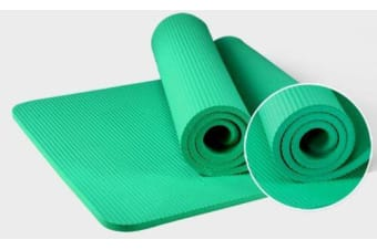 15MM Thick Yoga Mat Non Slip Durable Exercise Fitness Gym Mat Lose Weight Pad aqua