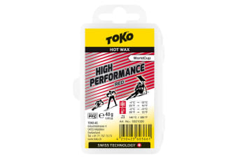 Toko Wax High Performance Hot Wax Red 40G