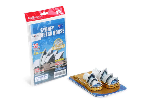 Sydney Opera House 3D Puzzle (Coloured)