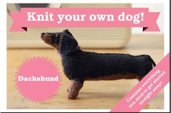 Best in Show: Dachshund Kit - Knit Your Own Dog