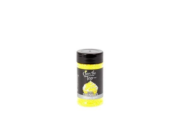 Over The Top Sprinkles Yellow 82g